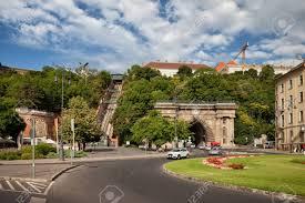 Hungary, City Of Budapest, Adam Clark Square, Buda Tunnel And ...