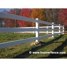 Bufftech Small Vinyl Ribbed Rails Hoover Fence Co