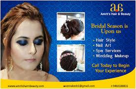 wedding by bridal makeup artist
