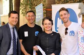 batyr staff with The Hon Pru Goward MP | Mental Health Commission of NSW