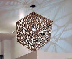 large cube pendant lighting