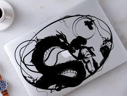 Spirited Away Chihiro Haku Decal Studio Ghibli Sticker For Etsy