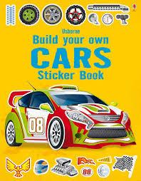 Build Your Own Cars Sticker Book At Usborne Children S Books