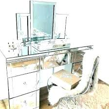 mirrored table with drawers dis net
