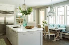 white pearl granite kitchen countertop