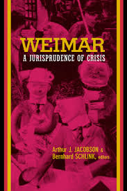 Weimar by Arthur Jacobson, Bernhard Schlink - Paperback ...