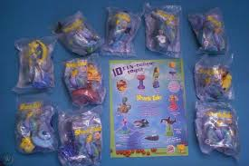 Burger King 2004 - Shark Tale - Complete Set of 10 MIP plus Brochure
