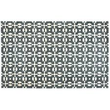 opus hand tufted 8 round rug grey