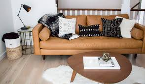 best modern leather sofa the sven by