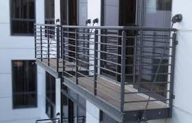 Steel Balcony Railing Design Stainless Outside Home Elements And Style Components Apartment Building Outdoor Modern Railings Ends Termination Crismatec Com