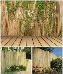 Garden Patio Fence Panels 2m High 4m Long Natural Reed Fence Screening Roll Garden Screen Panel Outdoor Mtmstudioclub Com