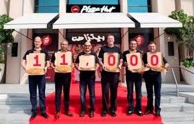 pizza hut celebrates its 11 000th