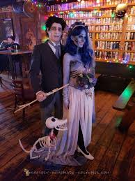 corpse bride and victor couple costume