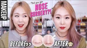 korean plastic surgery makeup nose