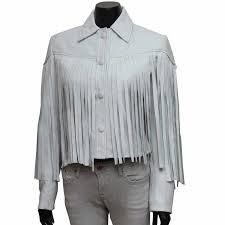 day off white fringe jacket