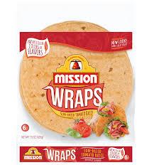 sun dried tomato basil wraps mission