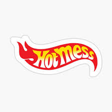 Hot Mess Stickers Redbubble