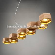 simple style wooden pendant lighting