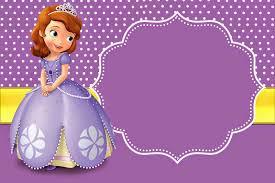 Invitaciones De Princesa Sofia Para Imprimir Gratis