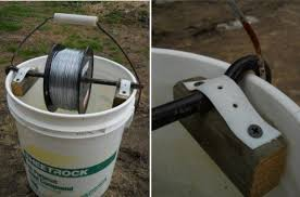 Diy Electric Fence Wire Holder Electric Fence Wire Fence Electric Fence For Cattle