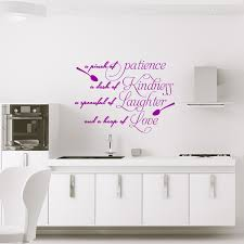 Wall Decal A Pinch Of Patience Wall Decal Quote Wall Stickers English Ambiance Sticker