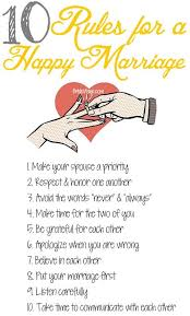 rules for a happy marriage marriage tips husbandandwife