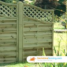 Omega Wing Fence Panels 3 5ft X 3ft Natural Berkshire Fencing