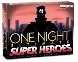 one night ultimate super heroes bn