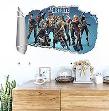 Cartoon 3d Self Adhesive Fortnite Wall Sticker Wall Decoration Children S Room Wall Decal Fortnite Wall Stickers Buy Online At Best Price In Ksa Souq Is Now Amazon Sa