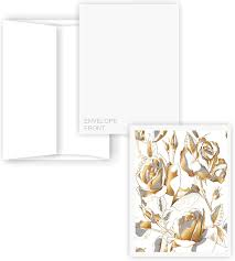 Amazon Com 5 X 7 En Blanco Tarjetas Con Sobres A 7 Smooth