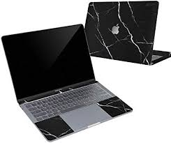 Amazon Com Digi Tatoo 4 In 1 Macbook Skin Decal Sticker Compatible With Apple Macbook Air 13 Inch 2020 2018 Release Model A2179 A1932 Full Body Protective Removable And Anti Scratch Black Marble Computers Accessories