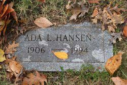 Ada Hansen (1906-1994) - Find A Grave Memorial