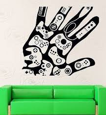 Wall Sticker Vinyl Decal Video Games Gamer Xbox Playstation Decor Unique Gift Z2213 Wall Decals Vinyl Wall Decals Gaming Decor