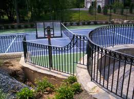 What S The Best Fence For A Tennis Court Hercules Custom Iron Hercules Custom Iron