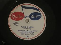 "EFFIE SMITH ""MAMBO BLUES"" 78 **RARE LABEL** R&B, BOOGIE 