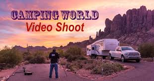 camping world shoot rving is