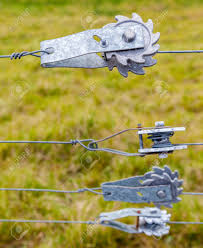 Ratchet Fence Tensioners For Tightening Wire Fences With Blurred Stock Photo Picture And Royalty Free Image Image 47241441