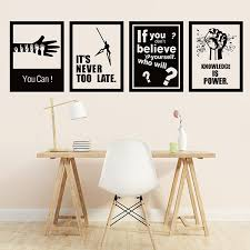 New Inspirational Large Wall Stickers School Classroom Company Office Decoration Diy Art Mural Removable Wall Sticker Buy At The Price Of 6 95 In Aliexpress Com Imall Com