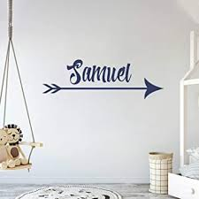Amazon Com Custom Arrow Name Gold Series Baby Girl Wall Decal Nursery For Home Bedroom Children 782 Wide 22 X 7 Height Baby