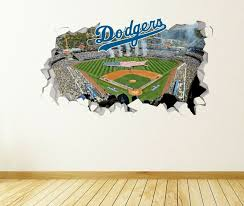 Details About Los Angeles Dodgers Wall Decal Smashed Mlb Sport 3d Art Sticker Vinyl Js1589 In 2020 Sticker Art 3d Art Vinyl Sticker