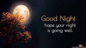 good night full hd wallpaper