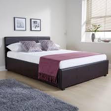 winston side lift king size ottoman bed