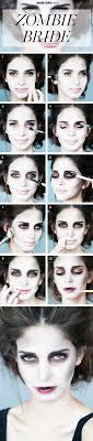 halloween makeup how to zombie bride