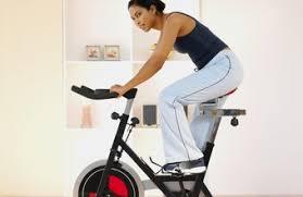 lose riding a stationary bike