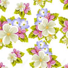 Patron Floral Sin Fisuras De Varias Flores Para El Diseno De