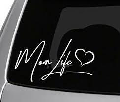 Mama Bear Decal Sticker Car Van Window Mom Life Momma Mommin Aint Easy 5 1 2