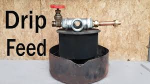 waste oil burner easy 5 minute drip