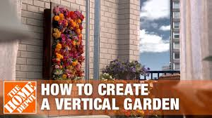 Diy Living Wall Vertical Garden Planters The Home Depot Youtube