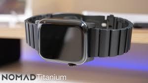 anium apple watch band