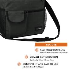 opux lunch bag insulated lunch box for